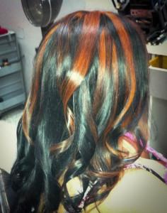 Color Highlights Hair