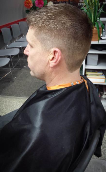 Men's Haircut, Stylist, Jennifer Tran