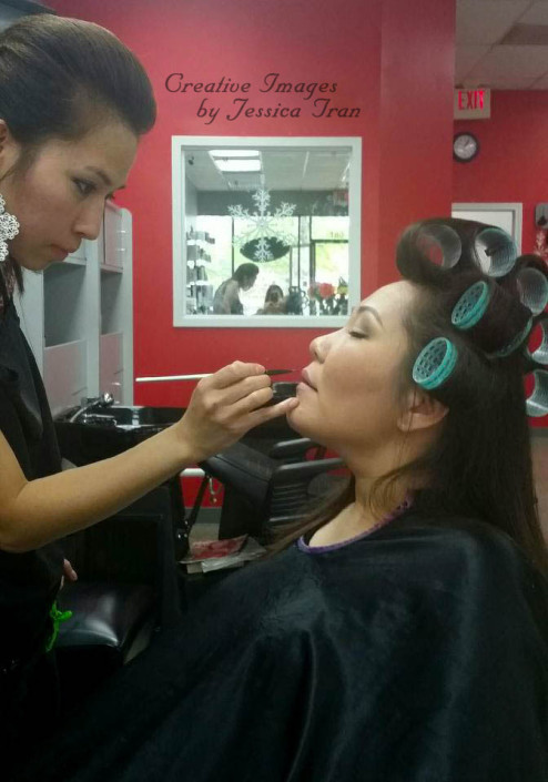 Makeup, Artist, Jennifer Tran