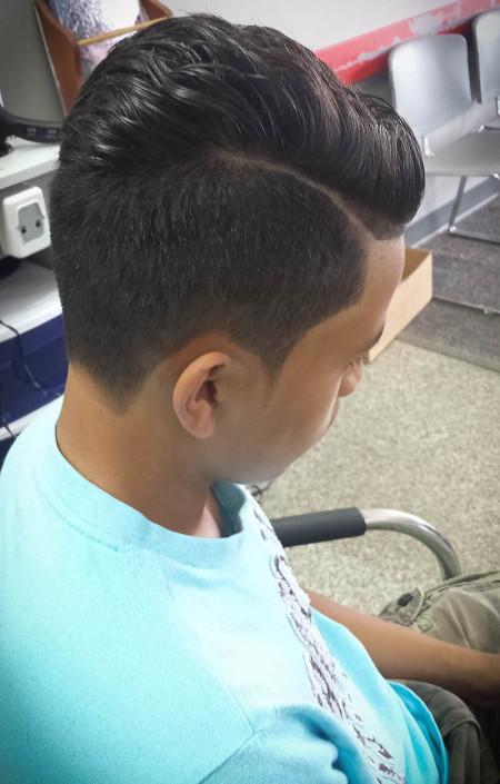 Men's Hair Cuts by Jennifer Tran